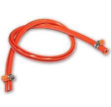 Propane Butane Gas Hose Pipe LPG Camping Caravan BBQ Gas Bottle 9mm + 2 Clips