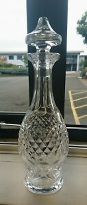 VINTAGE WATERFORD CRYSTAL COLLEEN DECANTER EARLY SCRIPT WATERFORD MARK MINT !!!