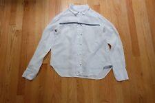 Rag and Bone Women's White Linen Shirt Blouse Loose fit XS S