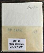 """10 TOTAL USA FIRST DAY COVER SLEEVES PROTECTIVE SLEEVES 4 1//4/"""" x 7 3//8/"""""""