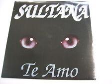 "ITALO-DISCO - SULTANA - TE AMO - 12"" VINYL EXCELLENT CONDITION 1993"