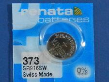 Renata  373 /  SR916SW    Batteries  Button Cell ,1Pc