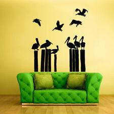 Wall Decal Vinyl Sticker Animal Bedroom Pelican Bird Sea Ocean (Z852)
