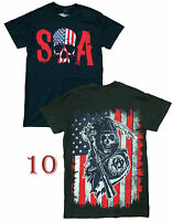 Authentic Sons Of Anarchy Adult Men T-Shirt S-3XL Tee