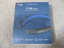 New LG TONE ACTIVE HBS-A80 Premium Wireless Bluetooth Stereo Headset - Blue