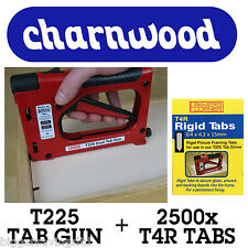 CHARNWOOD TAB DRIVER T225 C/W PACK OF 2500 T4R TABS - RIGID TABS - HAND OPERATED