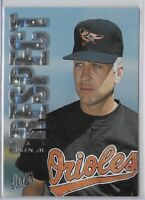 1996 Fleer Ultra Cal Ripken Jr Respect Insert SP No. 7