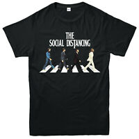 The Social Distancing Eps Beatles Walk T-Shirt,Silly Walks Funny Quarantine Top