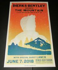 Dierks Bentley The Mountain Hatch Show Print Poster Ryman Auditorium