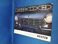 AUSTIN 1800 MK II SALES BROCHURE CAR ADVERTISING BRITISH LEYLAND