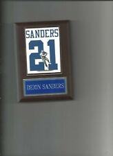 Deion Sanders Jersey Photo Plaque Dallas Cowboys Football Nfl