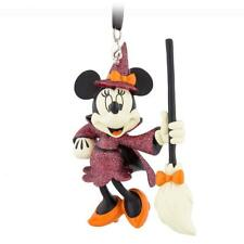 """BNWT Disney Parks Minnie Mouse Halloween Witch Figure Holiday Ornament 4"""""""