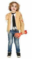 Zombie Halloween de niños sin brazo uno armado Fancy Dress Costume Childrens Traje