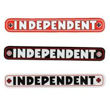 """Independent Skateboard Truck Company Bar Logo Sticker 4"""" - Various Colors"""