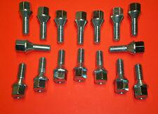 16 Radschrauben für Stahlfelge Citroen C2 C3 C4  C5  DS3  DS4  Xsara ZX Picasso