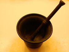 MORTAR AND PESTLE SET **ANTIQUE** SEE DESCRIPTION FREE SHIP!!!