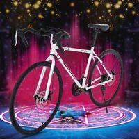 Road Bike 21 Speed Mens Bikes 700C wheels Bicycle Disc Brakes Racing Bicycle US