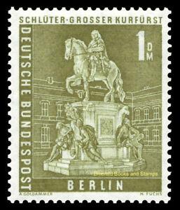 EBS Berlin 1956 - Townscapes - Stadtbilder - 1 DM - Michel 153 MH*