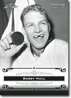 "BOBBY HULL 2012 LEAF ""EXCLUSIVE"" COLLECTORS HALL OF FAME PROMO CARD! LEGEND!"