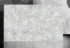 4'x2' White Quartz Marble Dining Restaurant Table Top Backlit Inlay Decor E230