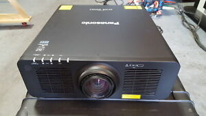 Panasonic PT-RZ120BU 12K Lumen WUXGA DLP Projector w/ 1.7 to 2.4:1 Lens (Black)