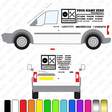 Handyman Van Sign, Small/Medium Van Custom Vinyl Decal, Handy Man Van Signage