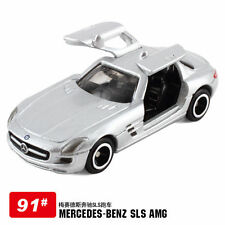 Takara Tomy Tomica No.91 Mercedes Benz SLS AMG ( Grey ) - Hot Pick