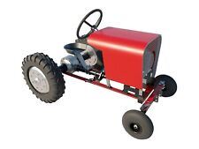 Garden Tractor Plans DIY Riding Lawn Mower Outdoor Power Equip Build Your Own