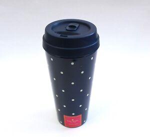 Kate Spade New York Navy Larabee Dot Thermal Travel Mug 16 Fl oz
