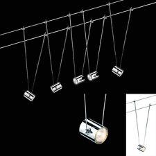 Halogen Seilsystem Komplett-Set 5x20W 105W Trafo Paulmann 940.59 TeleComet II