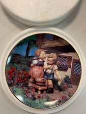 Mj Hummel Plate Collection Little Companion Squeaky Clean Tv1162
