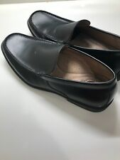 Croft&Barrow Mens Patent Leather Black Penny Loafers 11