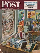 1949 Saturday Evening Post February 12 - Issues of the day Very Interesting