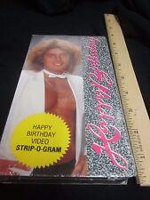 Strip-o-Gram StripTease VHS 80s Strippers Happy Birthday Video Men Man BRAND NEW