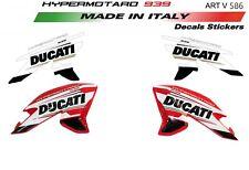 Adesivi per fiancate Ducati Hypermotard 939 design tricolore personalizzato