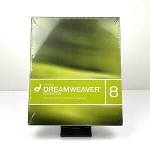 Brand New Sealed Macromedia Dreamweaver 8 EDUCATION For Windows/Mac