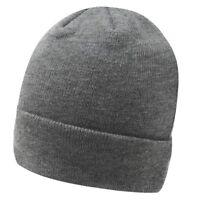 New Soviet Polka Mens Beanie Adult Warm Winter hat Grey One Size A341-30