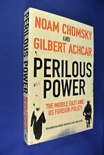 PERILOUS POWER Noam Chomsky Gilbert Achar USA MIDDLE EAST FOREIGN POLICY Book