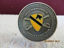 New listing Military Challenge Coin Army First Cavalry Division