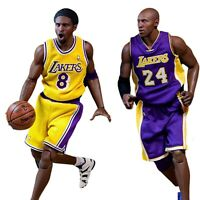 ENTERBAY Kobe Bryant 2-Pack Real Masterpiece NBA Collection 1:6 Scale Figures