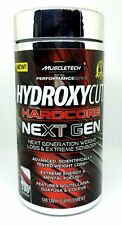 MuscleTech Hydroxycut Hardcore Next Gen Fat Burner Weight Loss 180 ct NEW SEALED