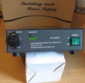 SHARMAN  SM23 QJE 23Amp 13.8V Power Supply for CB & Ham Radio