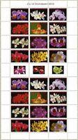 Surinam 2010 Orchideen Blumen Blüten Pflanzen Orchids 2405-2416 Kleinbogen MNH