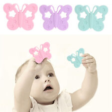 Cute Butterfly Shape Baby Teether Toys Soft Silicone Baby Teething Chew Toy S
