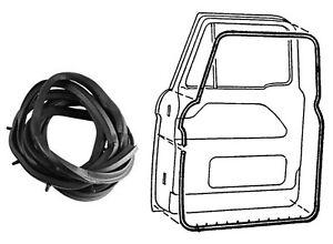 1961 1962 1963 1964 1965 1966 Ford Pickup Truck Door Seal Kit * both sides