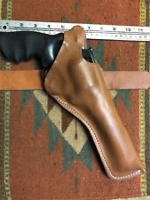 """Fits Colt Python S&W 686 Taurus 66 6"""" Leather Thumb Break Holster Two Position"""