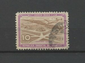 No: 104517 - URUGUAY - AIR MAIL - AN OLD 10 PESOS STAMP - USED!!