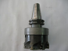 """Carbide Indexable 4"""" Face Milling cutter & CAT40 Arbor SECO #R220.69-04.00-16"""