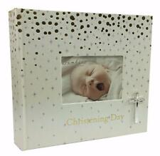 Gold Spots - Christening Day Photo Album Ideal Keepsake Gift NEW