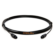 Cmple TosLink Cable - Digital Optical Audio Cable - SPDIF Dolby Digital DTS Bar